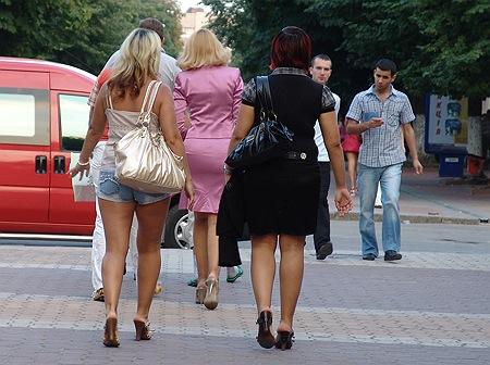 Ukrainische Mädels
