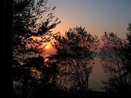 Sonnenaufgang Methoni