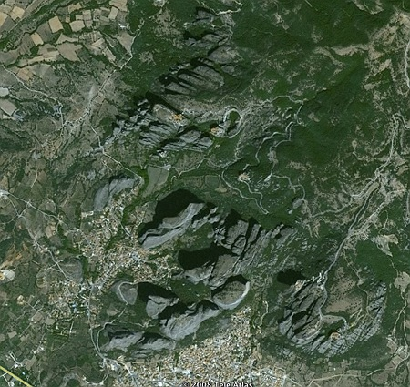 GoogleEarth: Meteora