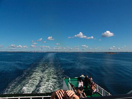 Ausfahrt aus Helsinki