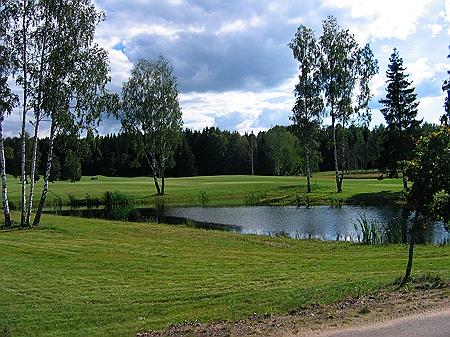Landschaft Golfplatz