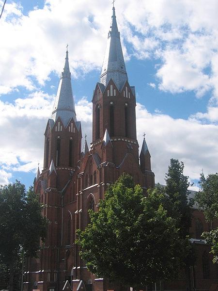 Kirche Anyksciai