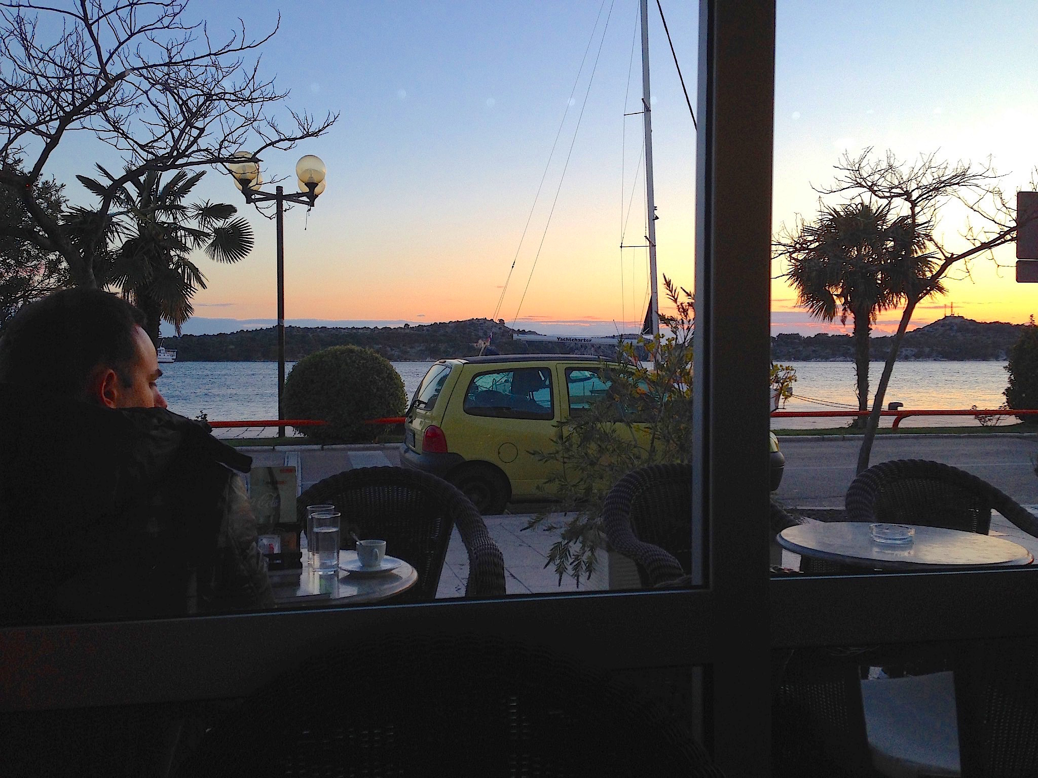 Café in Šibenik