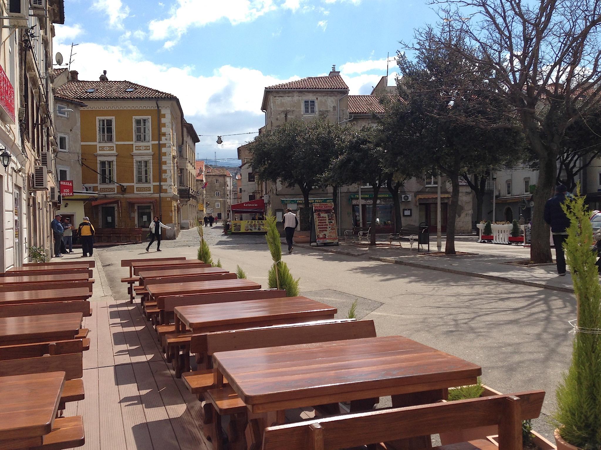 Senj, Blick zur Altstadt