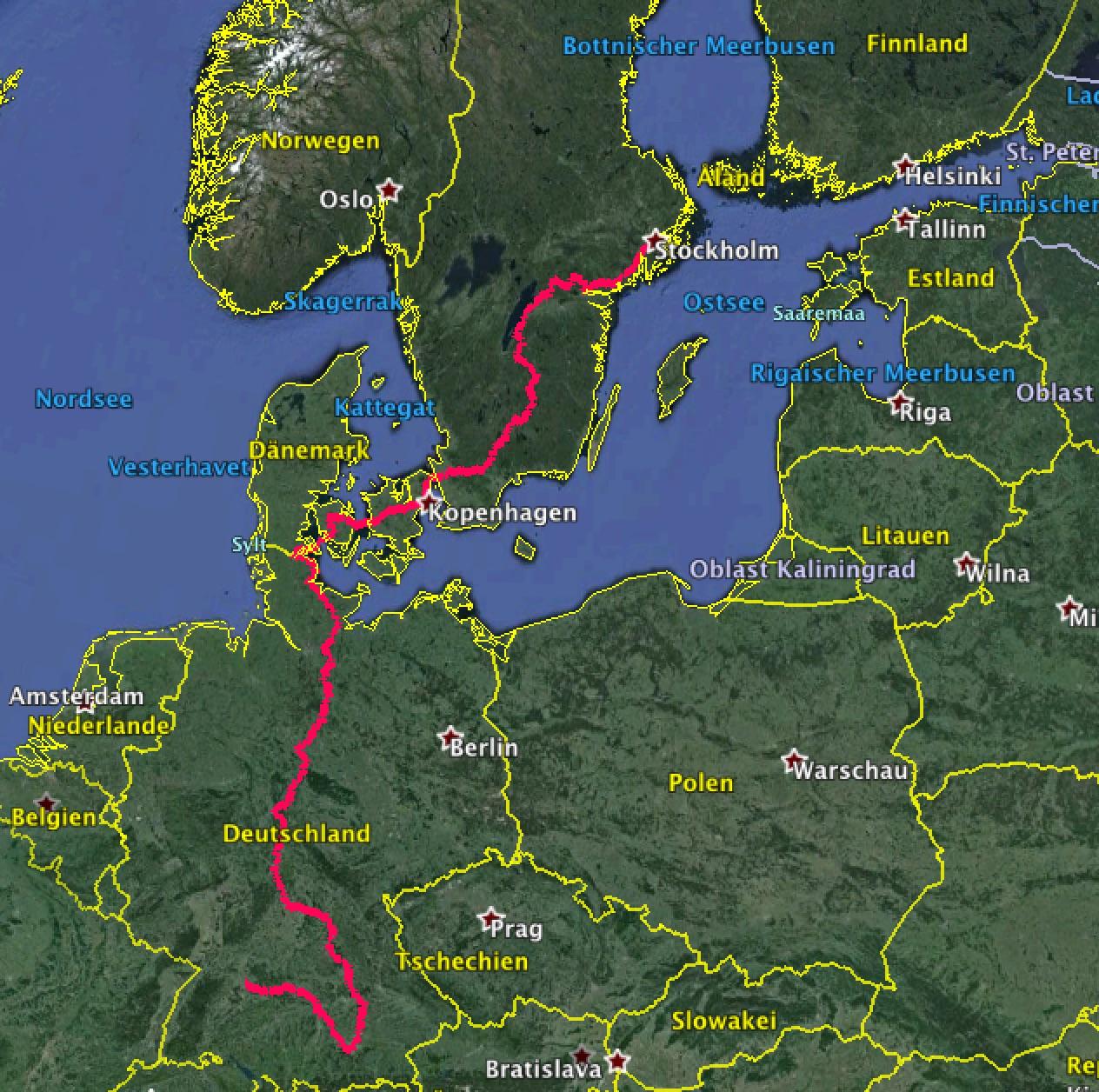 Rund Europa 2016 2 16 Tag Stockholm Pause Von Mir Nix Dir Nix