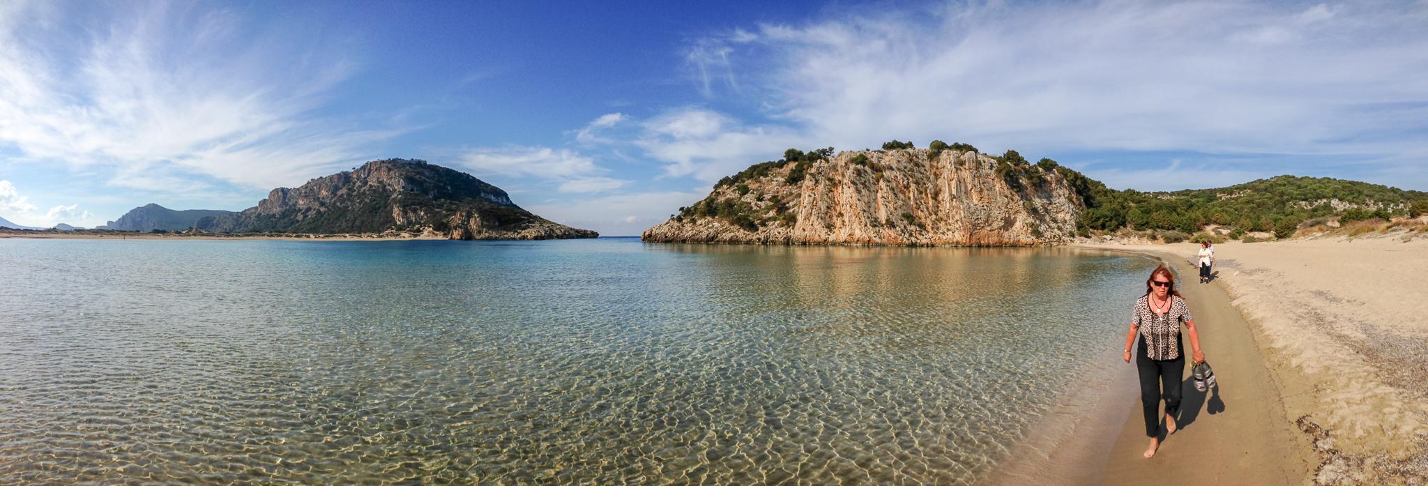 Die Bucht von Pylos, Peloponnes