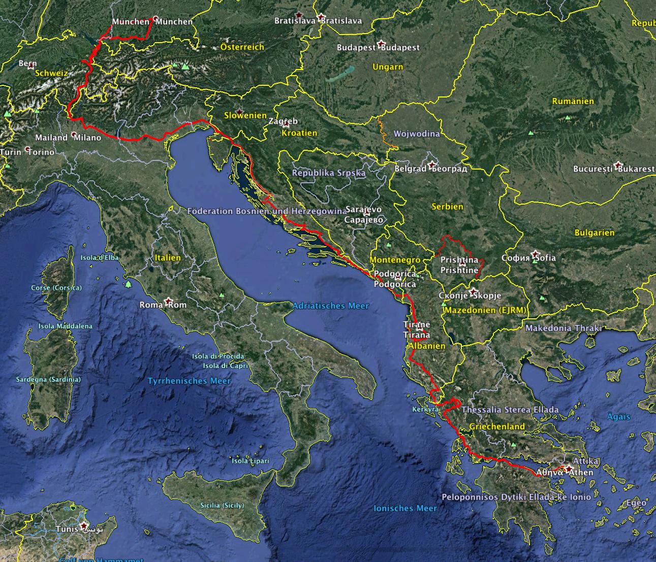 reisen junge leute europa
