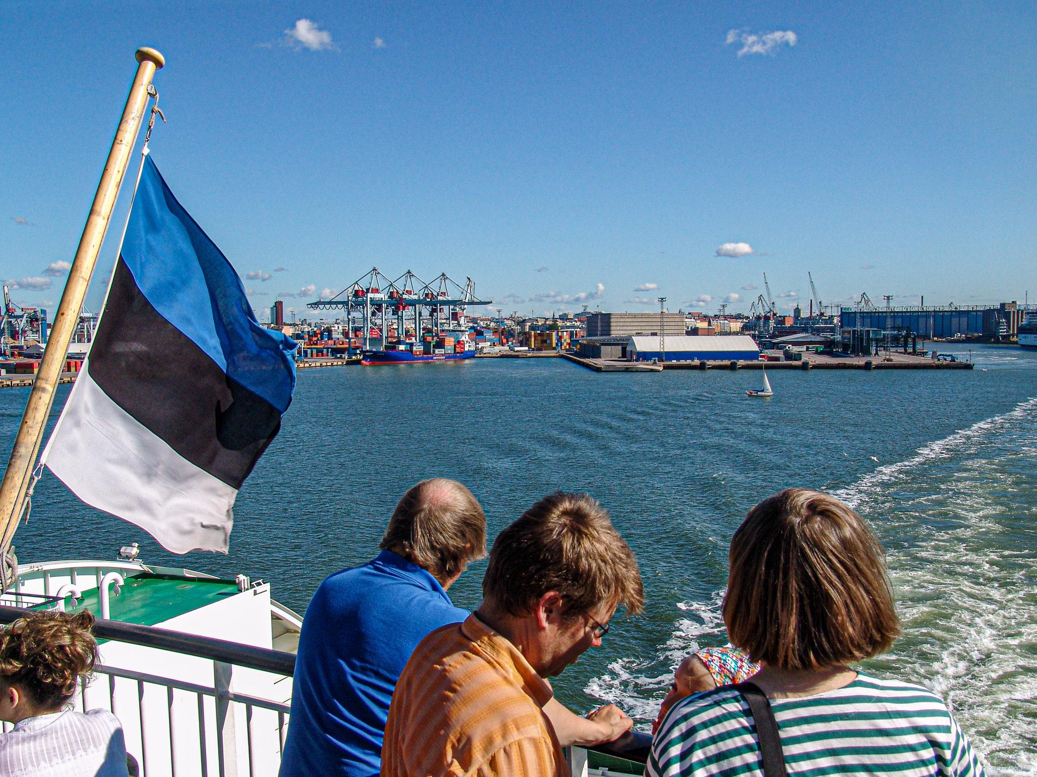 Auf der Fähre Helsinki – Tallinn