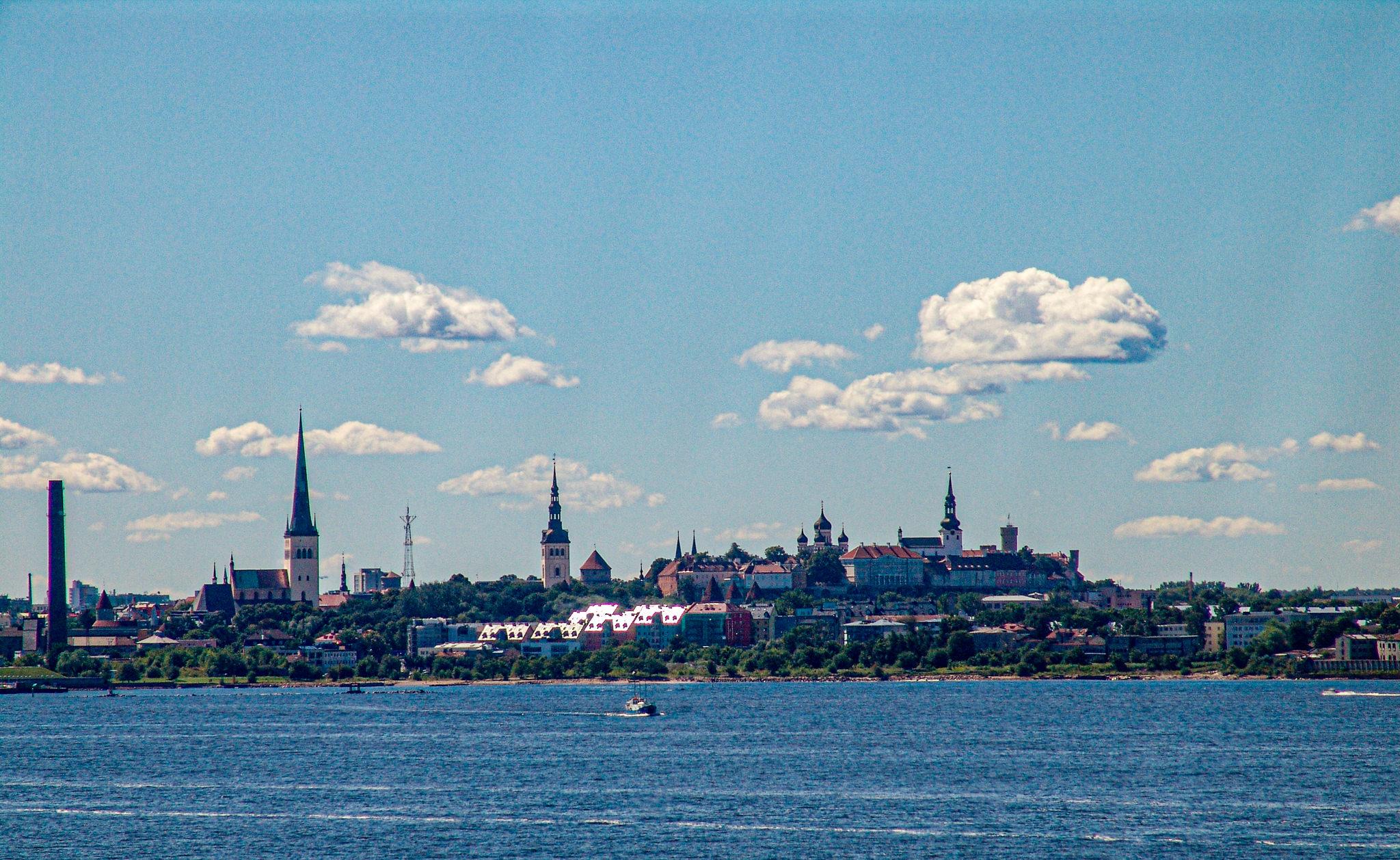 Ankunkt in Tallinn