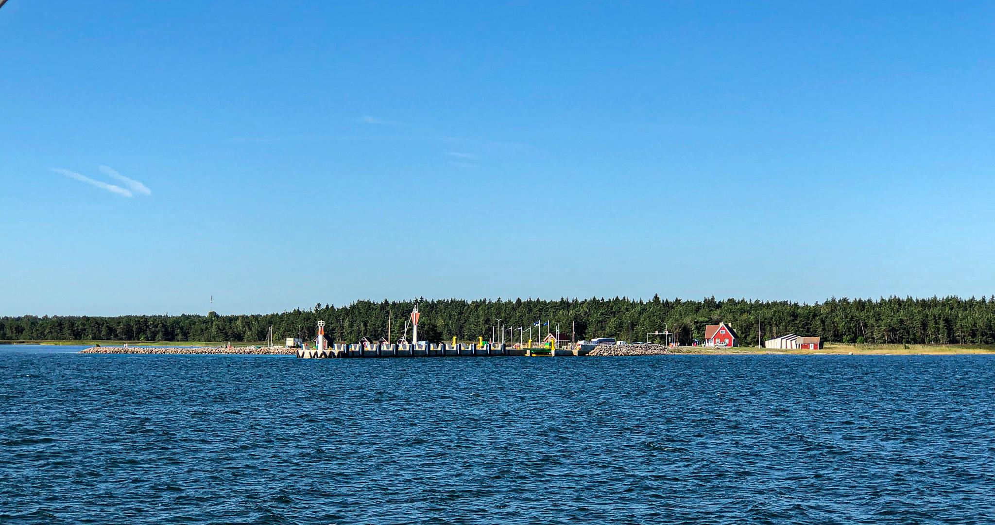 Land in sicht: Triigi auf Saaremaa