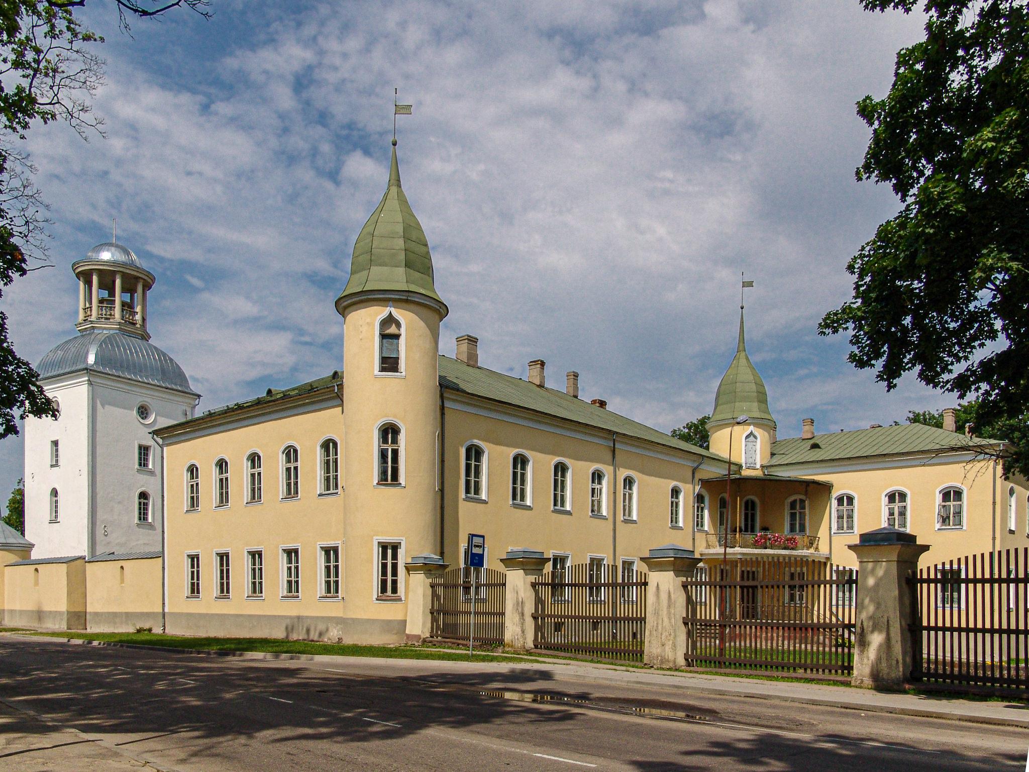 2010-07-16, Schloss Kreuzburg in Krustpils