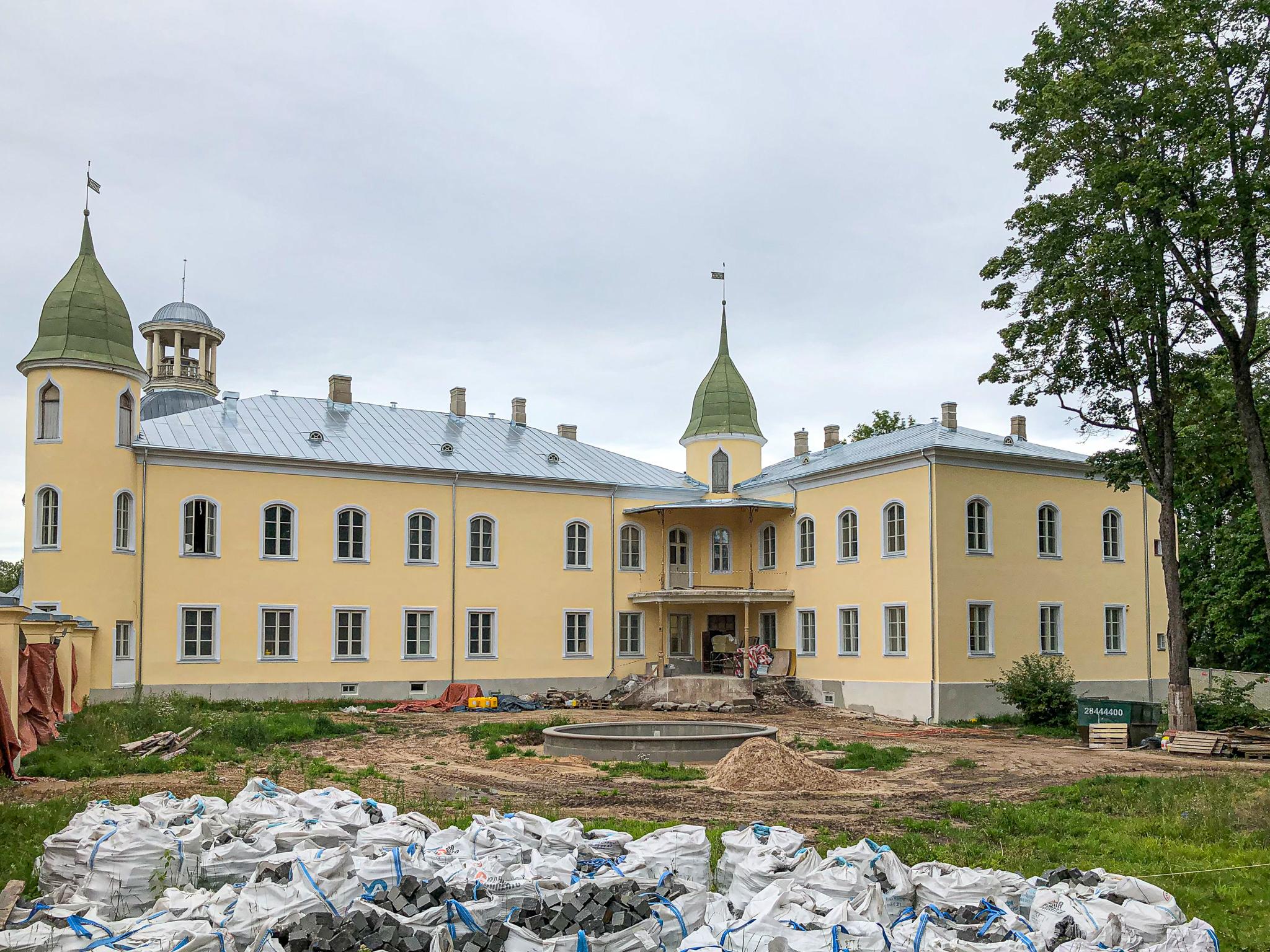 2019-07-30, Schloss Kreuzburg in Krustpils