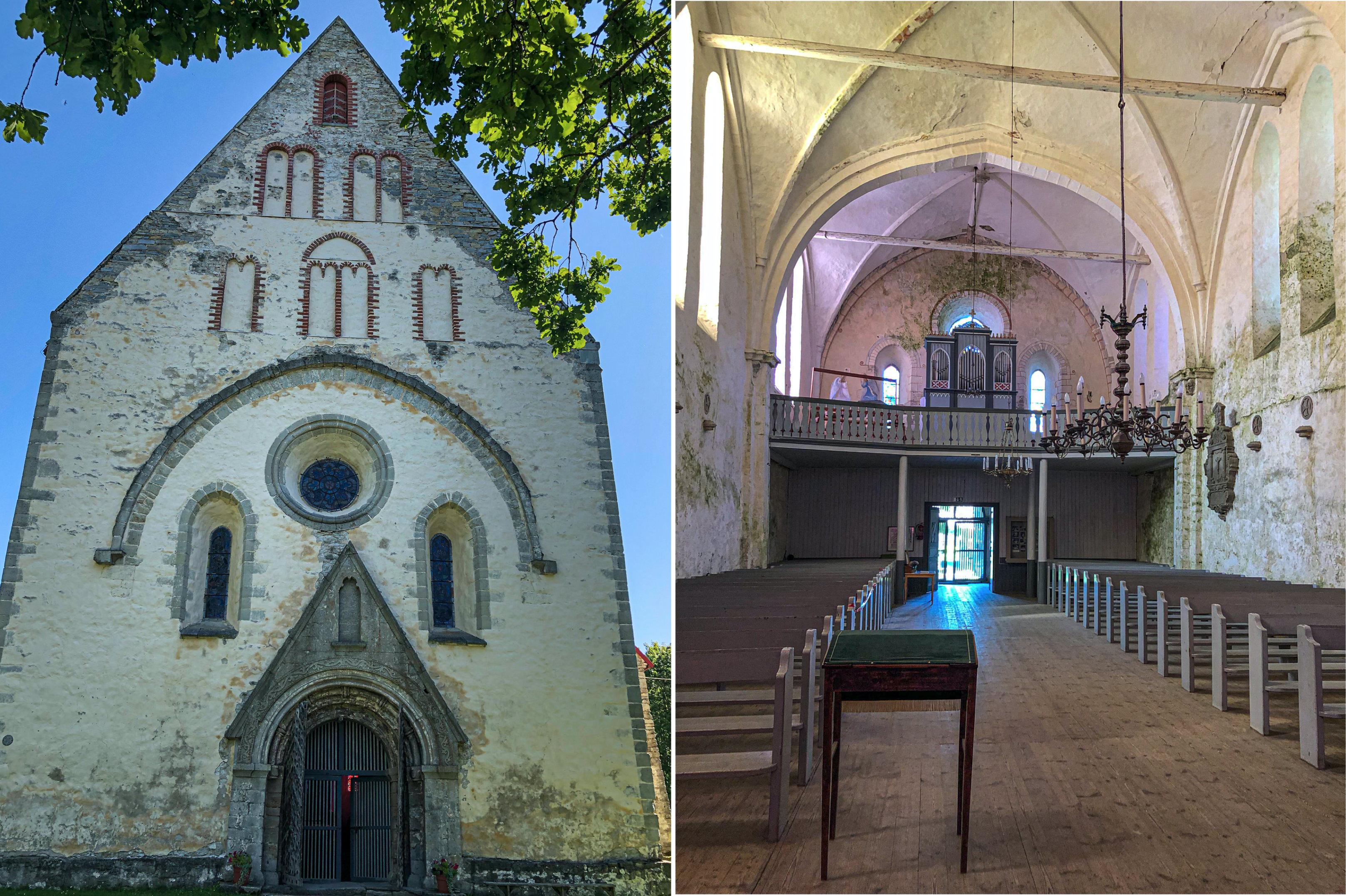Valjala, St. Martins Kirche